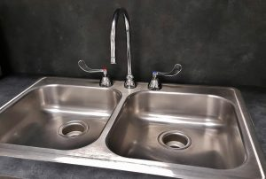 Kitchen sink unclogged