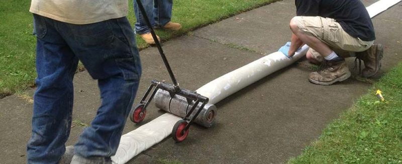 trenchless sewer repair by professional plumber